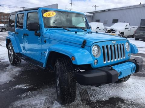 2018 Jeep Wrangler Unlimited for sale in Oswego, NY