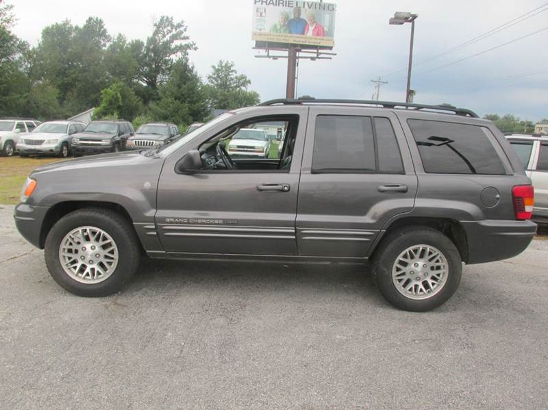 2004 Jeep Grand Cherokee Limited 4WD 4dr SUV W/HO V8   Carbondale IL