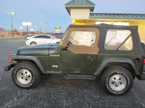 1997 Jeep Wrangler for sale in Carbondale, IL