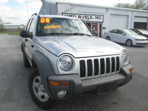 2004 Jeep Liberty for sale at Auto World in Carbondale IL