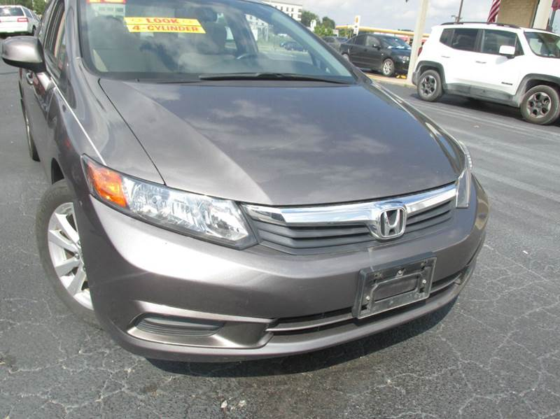 2012 Honda Civic DX 4dr Sedan 5A   Carbondale IL