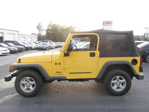 2003 Jeep Wrangler for sale at Auto World in Carbondale IL