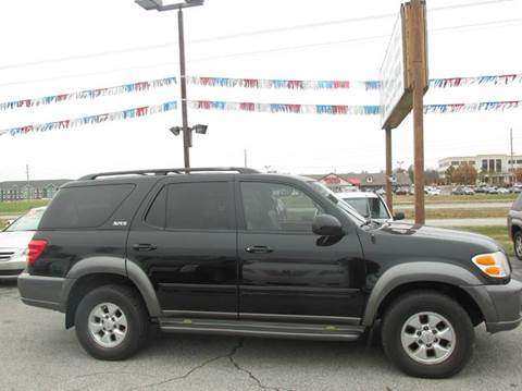 2004 Toyota Sequoia for sale at Auto World in Carbondale IL