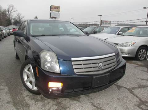 2005 Cadillac CTS for sale at Auto World in Carbondale IL