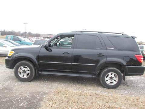 2002 Toyota Sequoia for sale at Auto World in Carbondale IL