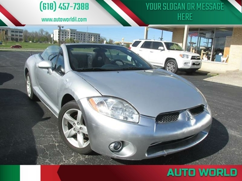 2008 Mitsubishi Eclipse Spyder for sale in Carbondale, IL