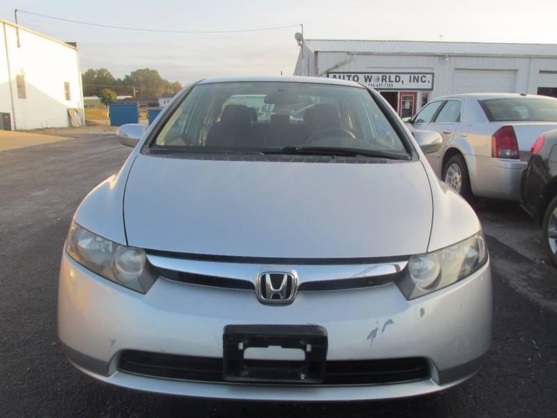 2007 Honda Civic Hybrid 4dr Sedan w/Navi In Carbondale IL - Auto World