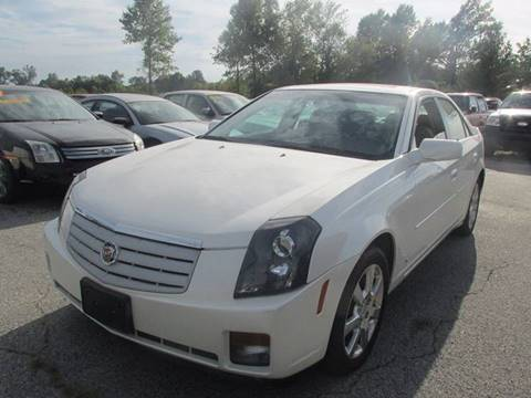 2007 Cadillac CTS for sale at Auto World in Carbondale IL