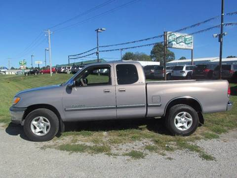 2002 Toyota Tundra for sale at Auto World in Carbondale IL