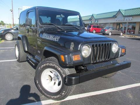 2002 Jeep Wrangler for sale at Auto World in Carbondale IL