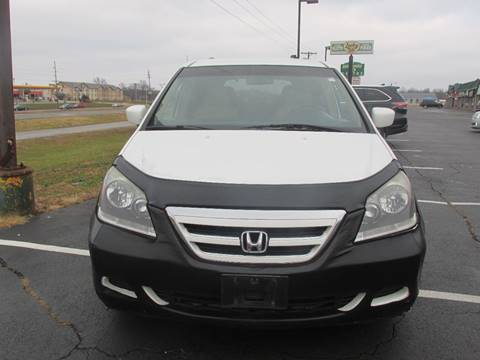 2005 Honda Odyssey for sale at Auto World in Carbondale IL