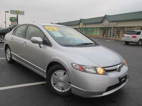 2008 Honda Civic for sale at Auto World in Carbondale IL