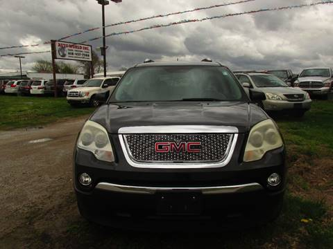 2007 GMC Acadia for sale at Auto World in Carbondale IL