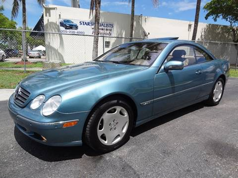 2001 Mercedes-Benz CL-Class for sale in Miami, FL