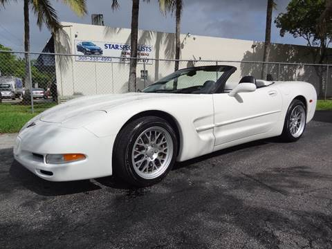 Julians Auto Showcase >> Used 2002 Chevrolet Corvette For Sale in Florida ...