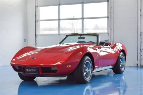 1975 Chevrolet Corvette for sale at Mershon's World Of Cars Inc in Springfield OH