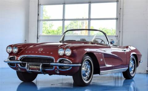 1962 Chevrolet Corvette for sale at Mershon's World Of Cars Inc in Springfield OH