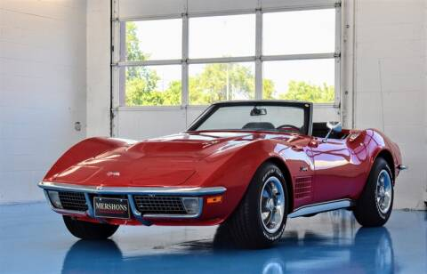 1970 Chevrolet Corvette for sale at Mershon's World Of Cars Inc in Springfield OH