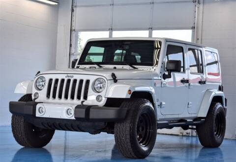 2016 Jeep Wrangler Unlimited for sale at Mershon's World Of Cars Inc in Springfield OH