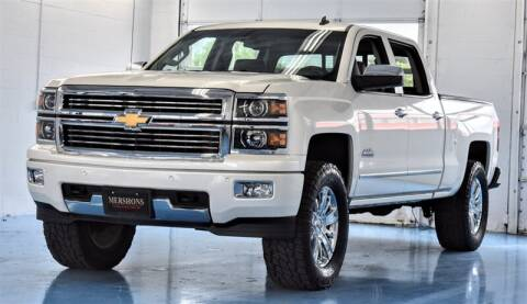 2014 Chevrolet Silverado 1500 for sale at Mershon's World Of Cars Inc in Springfield OH