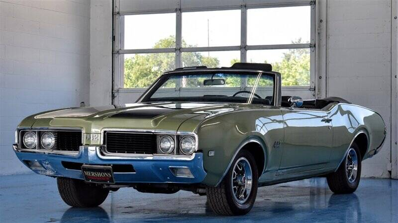 1969 Oldsmobile 442 for sale at Mershon's World Of Cars Inc in Springfield OH