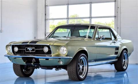1967 Ford Mustang for sale at Mershon's World Of Cars Inc in Springfield OH