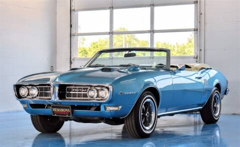1968 Pontiac Firebird for sale at Mershon's World Of Cars Inc in Springfield OH