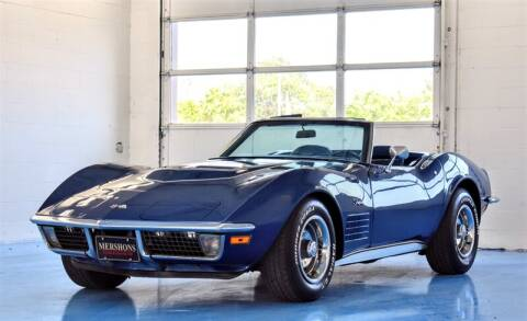 1971 Chevrolet Corvette for sale at Mershon's World Of Cars Inc in Springfield OH