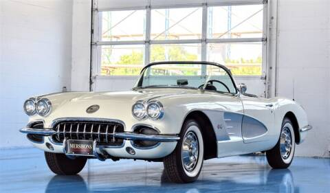 1960 Chevrolet Corvette for sale at Mershon's World Of Cars Inc in Springfield OH