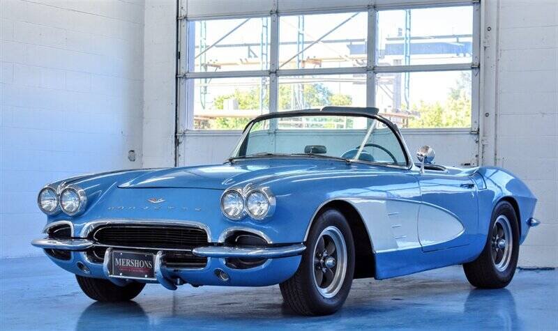 1961 Chevrolet Corvette for sale at Mershon's World Of Cars Inc in Springfield OH