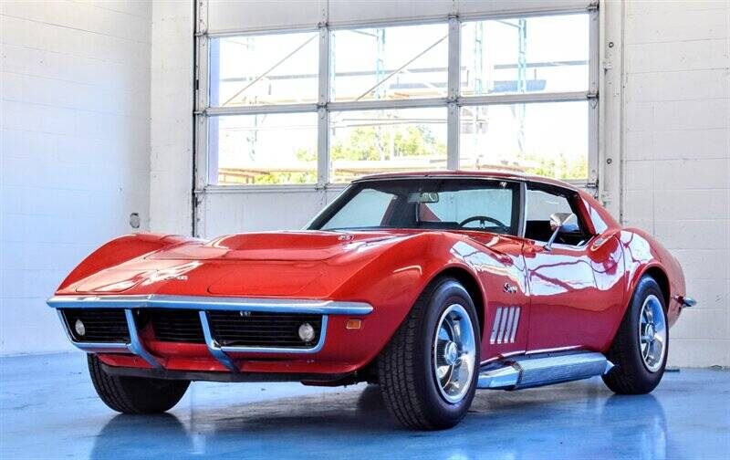 1969 Chevrolet Corvette for sale at Mershon's World Of Cars Inc in Springfield OH