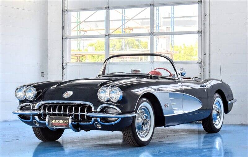 1958 Chevrolet Corvette for sale at Mershon's World Of Cars Inc in Springfield OH
