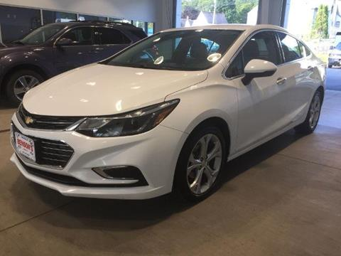 2017 Chevrolet Cruze for sale in Ludlow, VT