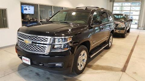 2017 Chevrolet Tahoe for sale in Ludlow, VT