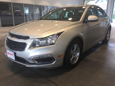 2016 Chevrolet Cruze Limited for sale in Ludlow, VT