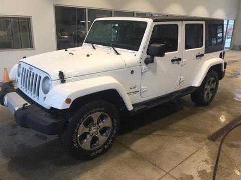2018 Jeep Wrangler Unlimited for sale in Ludlow, VT