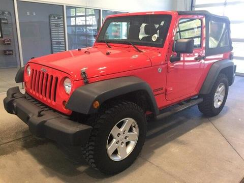 2013 Jeep Wrangler for sale in Ludlow, VT