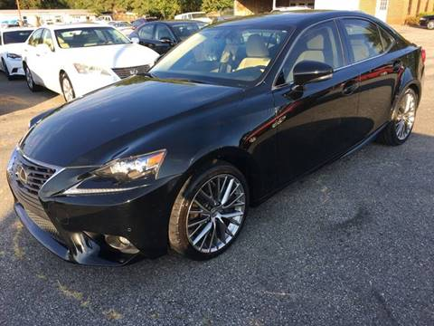 2016 Lexus IS 200t for sale in Spartanburg, SC