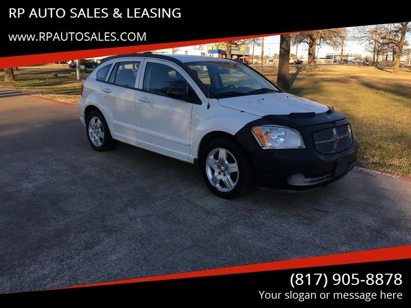 2009 Dodge Caliber for sale at RP AUTO SALES & LEASING in Arlington TX