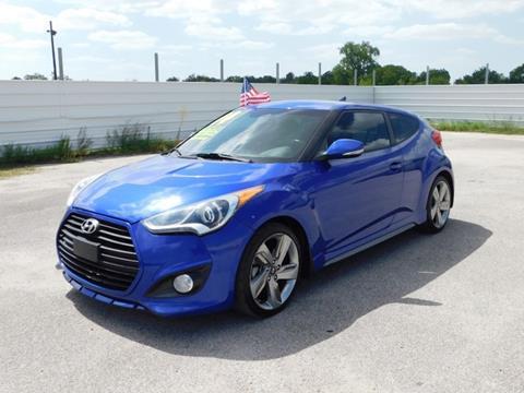 2014 Hyundai Veloster Turbo for sale in Pasadena, TX