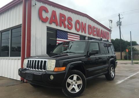 2009 Jeep Commander for sale in Pasadena, TX