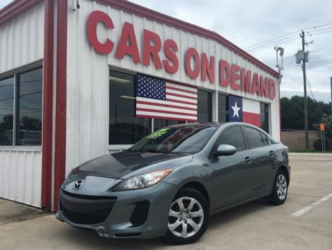 2013 Mazda MAZDA3 for sale in Pasadena, TX