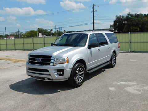2015 Ford Expedition EL for sale in Pasadena, TX