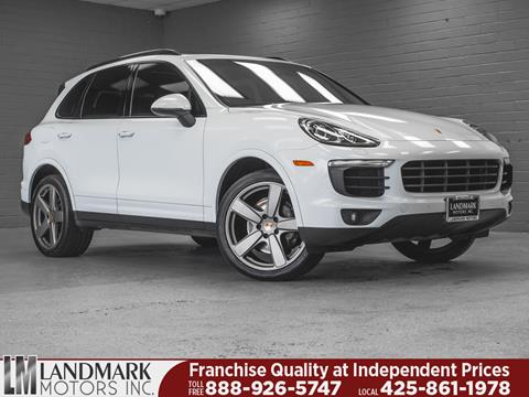 2017 Porsche Cayenne for sale in Bellevue, WA