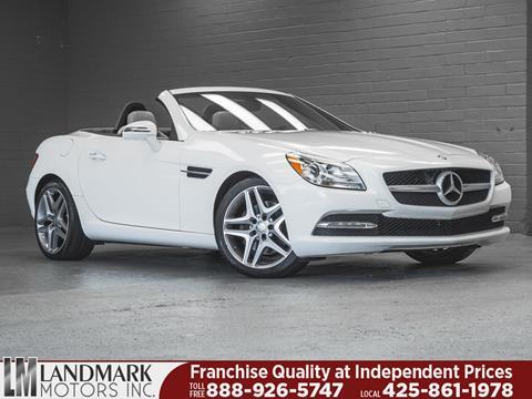 2016 Mercedes-Benz SLK for sale in Bellevue, WA