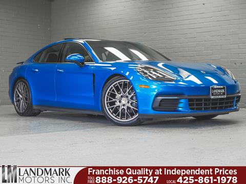2017 Porsche Panamera for sale in Bellevue, WA