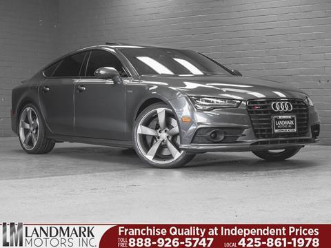 2016 Audi S7 for sale in Bellevue, WA