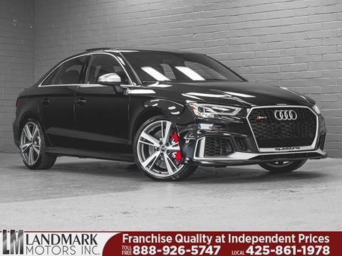 2017 Audi RS 3 for sale in Bellevue, WA