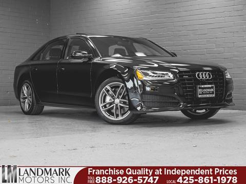 2017 Audi A8 L for sale in Bellevue, WA