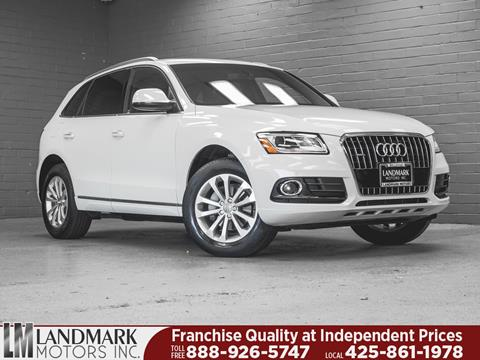2015 Audi Q5 for sale in Bellevue, WA